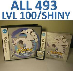pokemon soul silver game unlocked ds lite dsi 2ds 3ds soulsilver 45496740634 ebay. Black Bedroom Furniture Sets. Home Design Ideas