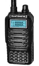 QUANSHENG TG-UV2 DUAL BAND HANDHELD TRANSCEIVER