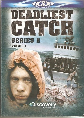 DEADLIEST CATCH SERIES 2 EPISODES 1-5 - 3 DVD BOX SET