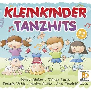KLEINKINDER-TANZHITS-CD-Neu-amp-Eingeschweisst