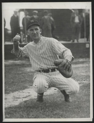 1932 Orig 1St Gen Press Photo   Arndt Jorgens  Yankees