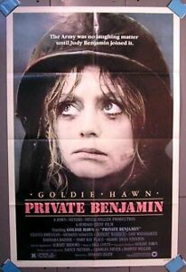 Original-1-Sheet-Poster-PRIVATE-BENJAMIN-Goldie-Hawn