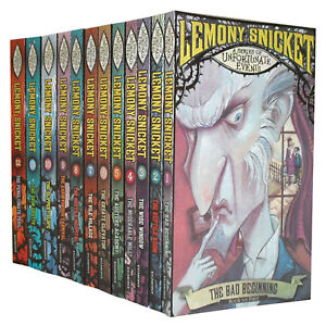 A Series of Unfortunate Events Books Set Lemony Snicket