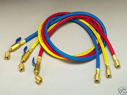 R410a, Yellow Jacket Set, 60 W/ball Valve 1/4 X 5/16, Model: 29485