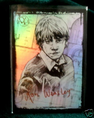 HARRY POTTER MEMORABLE MOMENTS 2-FOIL CARD RON WEASLEY on Rummage