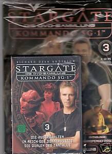 Stargate Kommando SG-1 ( DVD 3 ink. Magazin ) mit Richard Dean Anderson NEU OVP