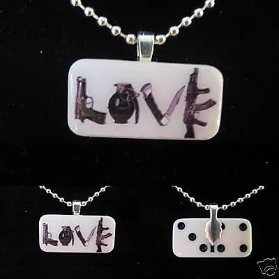 Love-weapons-mini-domino-pendant
