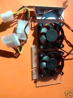 Low Profile Agp Slot Slim Cooling Fan Card