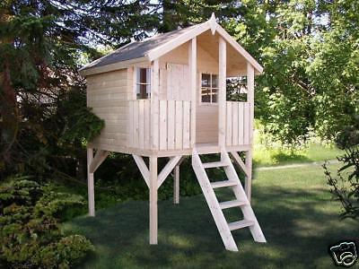 Kinderhaus Tobi Tüv Toby Gartenhaus Stelzenhaus Holzhaus Gerätehaus Spielhaus
