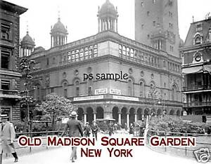 Ny madison square garden old fridge magnet - How old is madison square garden ...