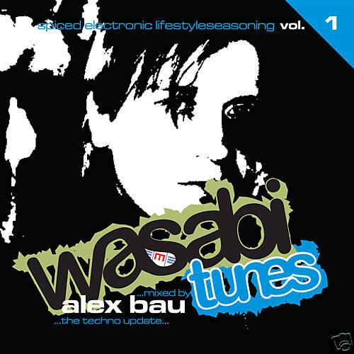 CD Wasabi Tunes Volume 1 mixed by Alex Bau von Various Artists 2CDs