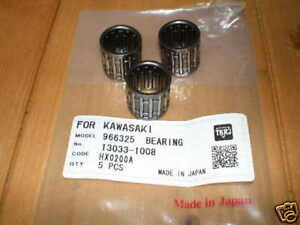 new-SMALL-END-BEARINGS-3-for-Kawasaki-KH250-KH400-KH