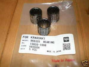 new-SMALL-END-BEARINGS-3-for-Kawasaki-KH250-KH400-KH