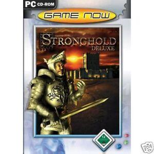 STRONGHOLD DELUXE - PC CD-ROM - NEU & SOFORT