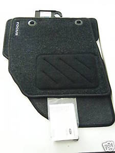 NEW GENUINE TAILORED FORD FOCUS CAR MATS/MAT SET 05-11