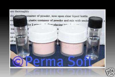 Reline Kit*PERMA SOFT*Repair Loose Dentures at Home with Denture Liner*Free ship on Rummage