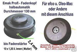 fadenkopf oleo mac efco emak tecomec innengew 2. Black Bedroom Furniture Sets. Home Design Ideas