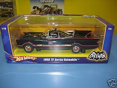 Hot Wheels 1966 Tv Series Batmobile nib