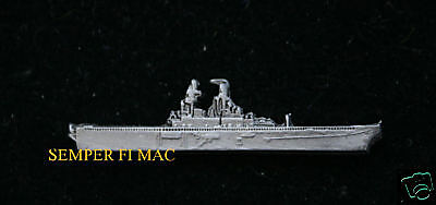 USS SAIPAN LHA-2 HAT LAPEL PIN MADE IN US NAVY USN CARRIER MARINES FMF GIFT WOW