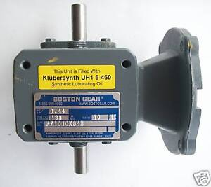 Boston Gear 700 Series Worm Gear Speed Reducer 10:1