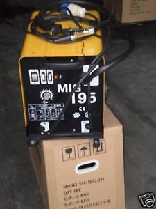 MIG-WELDER-195-AMP-SUPER-OVER-6000-SOLD