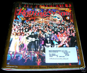 1000th ISSUE of ROLLING STONE MAGAZINE One Thousandth