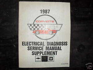1987 chevrolet chevy corvette electrical wiring diagram ... 1987 gmc wiring diagram for wipers