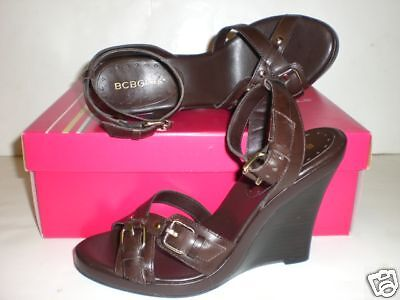 Bcbgirls Bg-barbera Size 8.5 M Wedge Sandal $89