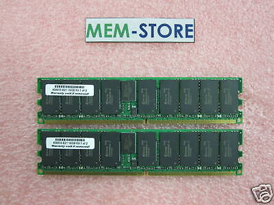 408855-b21 16gb(2x8gb) Pc2-5300 Memory For Hp Proliant