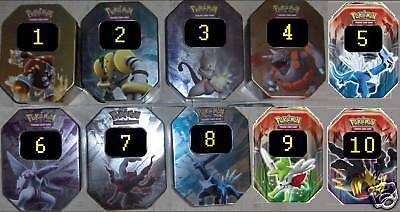 Pokemon Boite De Rangement Metallique Neuve Au Choix