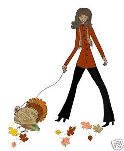 thanksgiving diva walking turkey cards african american ebay