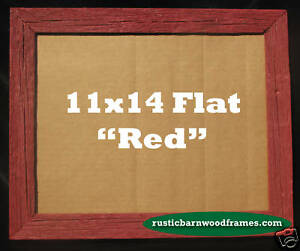 image is loading 11x14 red rustic barnwood barn wood picture photo