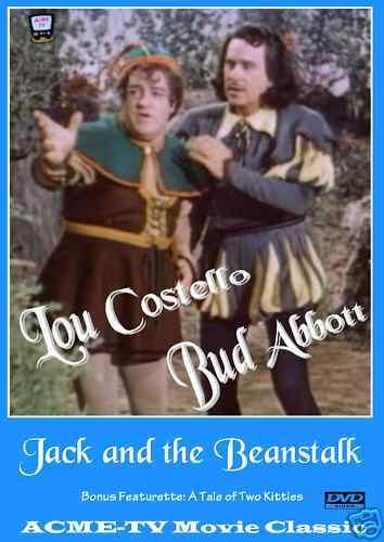 Abbott And Costello In Jack In The Beanstalk Dvd Color Bonus Feature