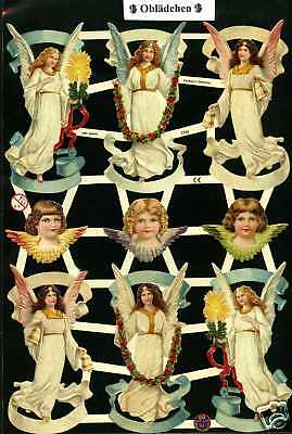# GLANZBILDER # EF 7332 Engel , wunderschöner Bogen aus dem Jahr 2010