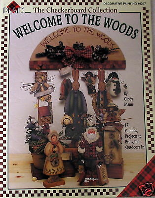 Cindy Mann Welcome To The Woods Tole Painting Book