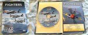 WAR-WEAPONS-DVD-BOOKLET-AEROPLANE-AIRPLANE-FIGHTERS
