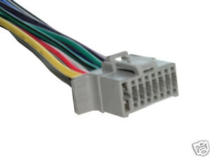 alpine cde 100 wiring harness 16 pin wire connector ebay Alpine CDE 100 Specs