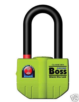 Oxford Boss Alarm Disc Lock *BRAND NEW!* UK Seller OF3
