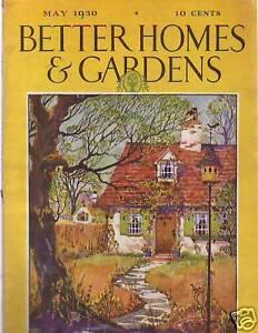1930 Better Homes Gardens May Helen Keller F Fox Ebay