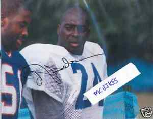 Ottis-Anderson-New-York-Giants-Autographed-8x10-Photo-COA-University-of-Miami