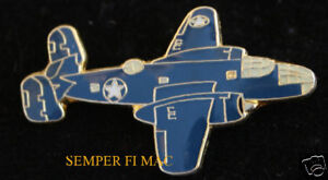 B-25-MITCHELL-AIRPLANE-LAPEL-HAT-PIN-North-American-NA40-PILOT-CREW-WING-L-K