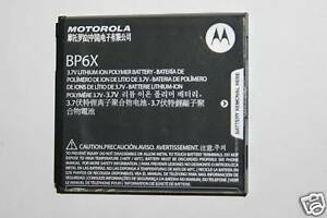 OEM-Motorola-Battery-BP6X-Droid-A855-T-Mobile-Cliq