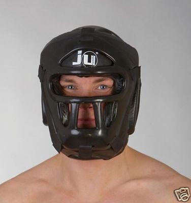 Kopfschutz Mask, mit Gitter von Ju Sports. Kendo,Escrima,Kickboxen Muay Thai.MMA