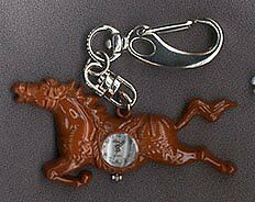 NEW-HORSE-BROWN-CLIP-WATCH-HORSES