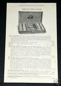 1891-WOCHER-SURGICAL-CATALOG-PAGE-87-TRIAL-EYEGLASS-LENSES-EAR-INSTRUMENTS