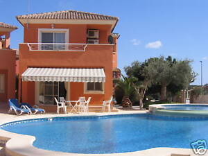 Holiday-Villa-for-Rent-Murcia-Spain-Near-Golf-November-29th-to-Dec-6th-sleeps-6