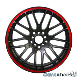 18-BLACK-RED-WHEELS-AUDI-VW-HONDA-ACURA-MERCEDES-TOYOTA-LEXUS-NISSAN-MAZDA-RIMS