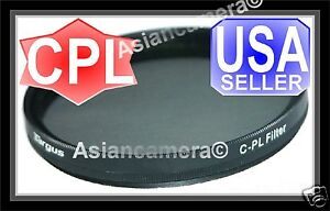 62mm-CPL-PL-CIR-Filter-For-Sony-A230-A300-18-250mm-Lens