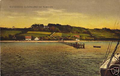 Ostseebad Elisenlund bei Apenrade - Ak um 1910