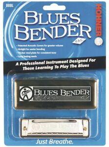 Hohner Blues Bender Harp, Key of F, Blister Packed, BBBX-F
